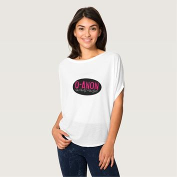 QANON WWG1WGA WOMEN'S TRUMP FLOWY TOP