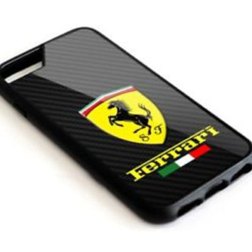 Best Ferrari Logo Carbon Automotive Cars For iPhone 7 7+ 8 8+ Cover Protect Case