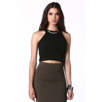 Vera Halter Neck Crop Top