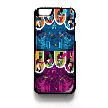 Yellow Submarine Color iPhone 4 4S 5 5S 5C 6 6 Plus , iPod 4 5  , Samsung Galaxy S3 S4 S5 Note 3 Note 4 , and HTC One X M7 M8 Case