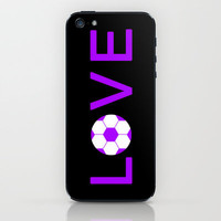 Soccer Love iPhone & iPod Skin by Kayla Ivey | Society6