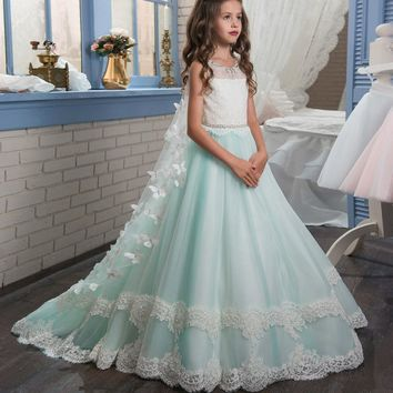 Best Girls Mint Dress Products on Wanelo