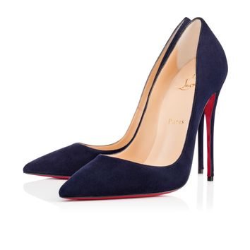 So Kate 120mm Nuit Suede