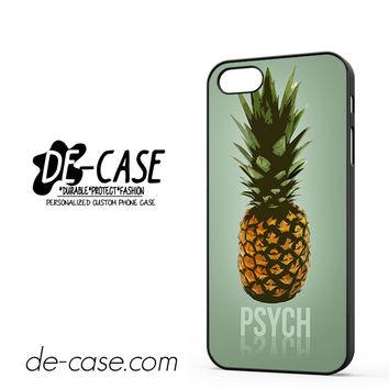 Pineapple Psych For Iphone 5 Iphone 5S Case Phone Case Gift Present