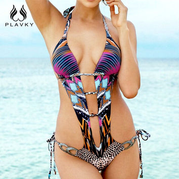 sexy joint trikini cut out plus size swimwear beachwear one piece bathing suit bodysuit thong monokini women one piece swimsuit