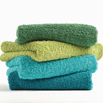 3-Piece Set of Super Pile Towels by Abyss and Habidecor