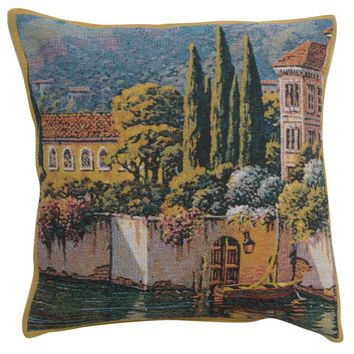 Varenna Reflections Village Right European Cushion