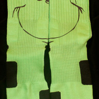 Grinch Inspired Custom Nike Elites