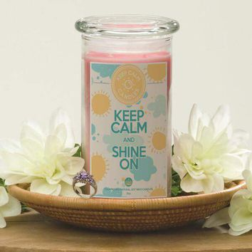 Keep Calm And Shine On - Keep Calm Candles