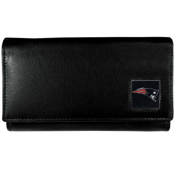 New England Patriots Leather Women's Wallet FFW120