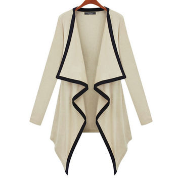 'The Audrey' Trimmed Knitted Cardigan