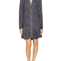 Printed Flared Shirt Dress by Free People at Gilt