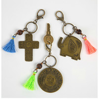 Natural Life Marrakesh Keychain