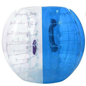 Oanon Inflatable Bumper Ball 1.2M 4FT/1.5M 5FT Diameter Bubble Soccer Ball Blow Up Toy, Inflatable