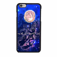 peter pan quote disney flying galaxy case for iphone 6 6s