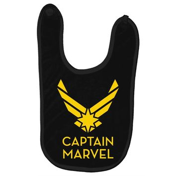 captain marvel 4 Baby Bibs