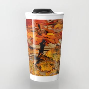 Fall Travel Mug by Jessica Ivy