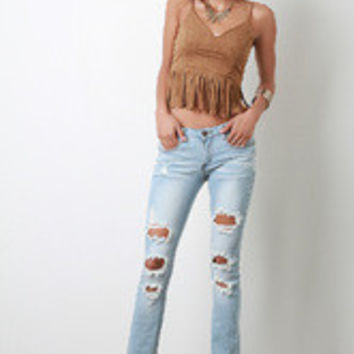 Dress Boot Cut Jeans