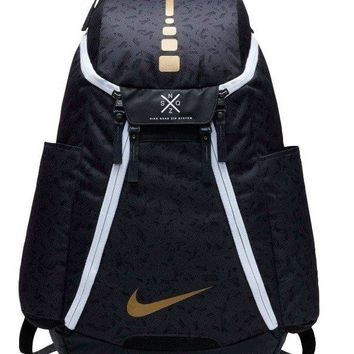 Nike Elite Max Air Team 2.0 Graphic Basketball Backpack- GOLD EDITION- NWT