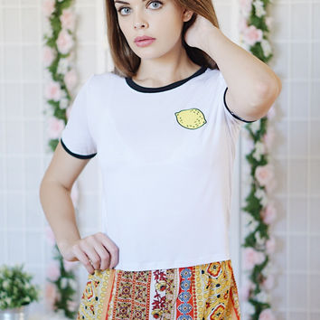 Lemon Ringer Tee
