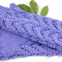 Ladies Lacy Fingerless Gloves Hand knit Made to order you pick color
