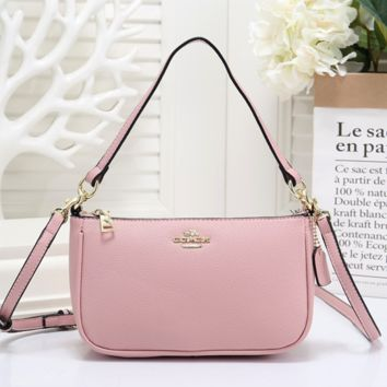 COACH Fashionable Women Shopping Bag Leather Crossbody Satchel Shoulder Bag Handbag