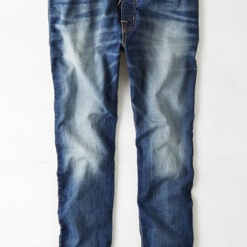 AEO Men's Denim Jogger (Light Vintage Wash)