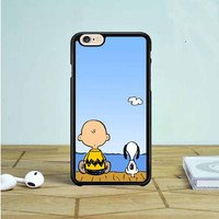 Snoopy And Charlie Brown iPhone 6 Case Dewantary