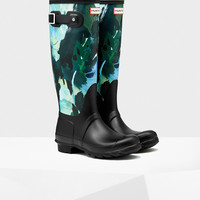 Women's Original Tall Botanical Print Rain Boots