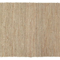 Haley Jute Rug, Sand, Area Rugs