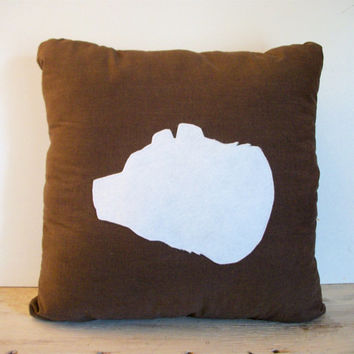 Bear Pillow-Decorative Pillow- Throw Pillow- Bear Head Brown