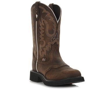 "Women's Justin Boots Gypsy L9909 11"" Round Toe Western Boots"