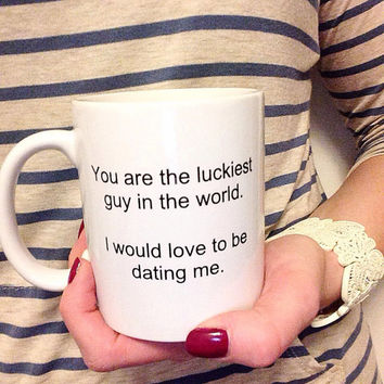 Valentine's Gift for Him - Funny Valentine's Gift - Valentine's Gift For Boyfriend - Valentine's Gift Idea - Unique Gift - Funny Coffee Mug