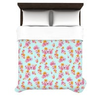 "Laura Escalante ""Paper Flower"" Lightweight Duvet Cover"