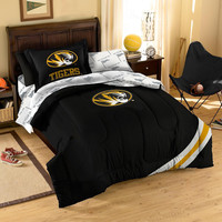Missouri Tigers NCAA Bed in a Bag (Twin)