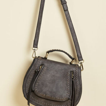 Skip on Your Shoulder Bag in Teak | Mod Retro Vintage Bags | ModCloth.com