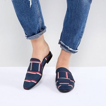 Free People At Ease Brocade Backless Loafer at asos.com