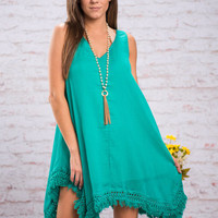 Free To Glow Dress, Jade