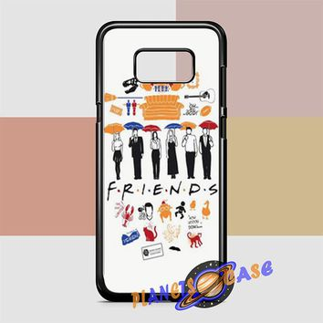 FRIENDS Collage Drawing Samsung Galaxy S8 Case Planetscase.com