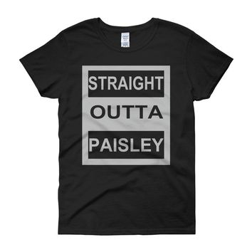 Straight Outta Paisley Women'S T Shirt