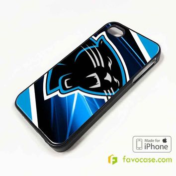 CAROLINA PANTHERS Football Team NFL iPhone 4/4S 5/5S/SE 5C 6/6S 7 8 Plus X Case Cover