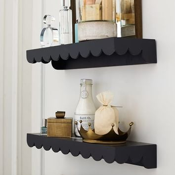 The Emily & Meritt Scalloped Shelf