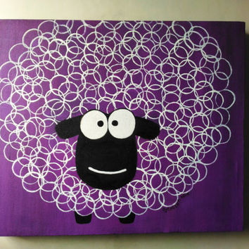 Sheep in Circles (A modern Display for Kids)
