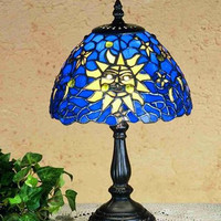 "0-007106>13""h Sun Moon and Stars In The Sky Accent Lamp"