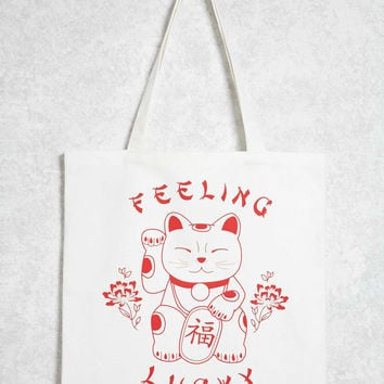 Feeling Lucky Tote Bag