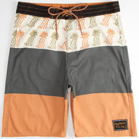 Captain Fin Finapple Mens Boardshorts Stone  In Sizes