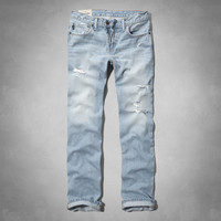 a&f slim straight jeans
