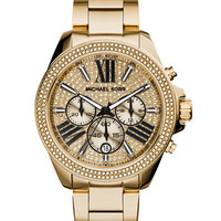 Michael Kors Ladies Wren Gold Tone Watch