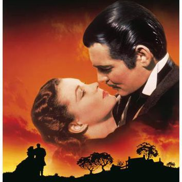 Gone with the Wind Movie Poster 11x17