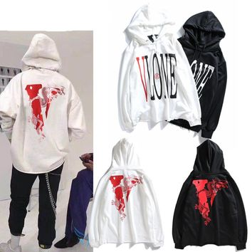 Print Hats Hoodies Couple Jacket [1003070849060]